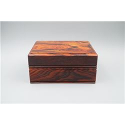A Rosewood Box with Cover.
