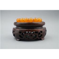 Baltic Butterscotch Amber Bracelet.