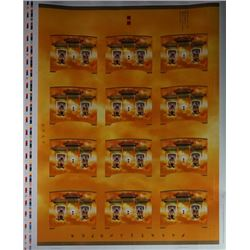 A Limited Edition of 2006 Canada Published Year of the Dog Souvenir Sheets.