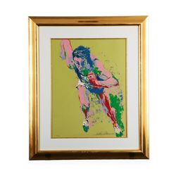 Olympic Runner  by LeRoy Neiman - Limited Edition Serigraph