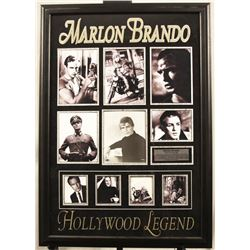 Marlon Brando Autographed Photo Collage