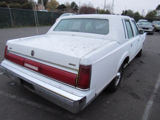 1986 lincoln town car speeds auto auctions 1986 Lincoln Mark VII image 3 1986 lincoln town car