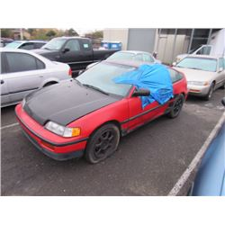 1989 Honda Civic CRX