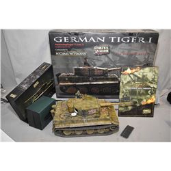 "First edition, Forces of Valor 1:16th scale die cast ""Michael Wittmann, German Tiger 1"" tank, new in"
