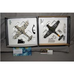 "Two Corgi The Aviation Archive limited edition 1:32 scale die cast planes including ""Messerschmitt B"