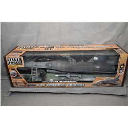 """Elite Forces 1:18th scale die cast """"F-16 Fighting Falcon"""", new in box and retails $400.00"""