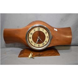 Vintage mantle clock made from a propeller hub from a deHavilland Gipsy Major as used on Tiger Moth