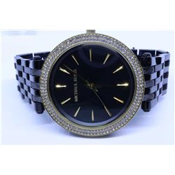 "Michael Kors ""Darci"" lady's quartz wrist watch in case, retails $335.00"