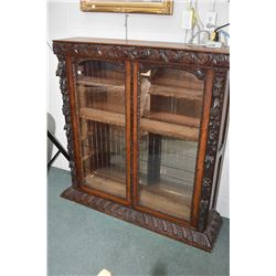 Antique center and top crown section that belong to lot 246, currently converted to floor display ca