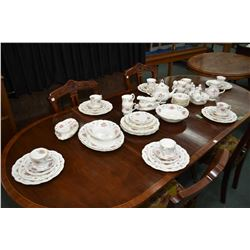 Large selection of Royal Albert Tranquility including 11 dinner plates, 10 luncheon plates, 9 bread