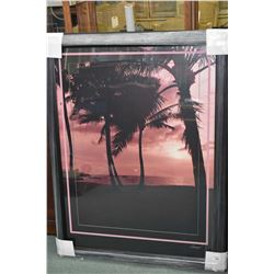 """Framed original photograph titled """"Tranquility"""" by artist Leonard, overall dimensions 45"""" X 35"""""""