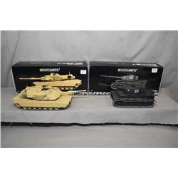 """Two Minichamps 1:35th scale die cast tanks including """"M1A2SEP Abrams, Iraq 2003"""", new in box and ret"""