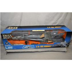 """Elite Forces 1:18th scale, die cast """"F/A -18C Hornet, The Fighting Dragons"""", new in box and retails"""