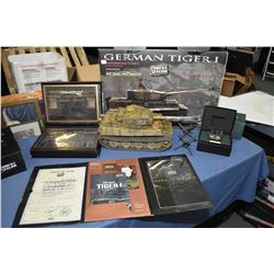 """First edition, Forces of Valor 1:16th scale die cast """"Michael Wittmann, German Tiger 1"""" tank, new in"""