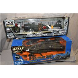 Elite Force 1:18th scale Apache Helicopter, new in box, retails for $275.00 and an Elite Force 1:18t