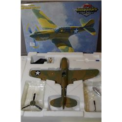 "GMP Military Collection 1:35 scale die cast limited edition ""Texas Longhorn P-4E"" new in box, retail"