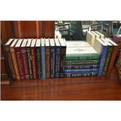 "Twenty hardcover volumes of ""Reader's Digest- The World's Best Reading"" including Rudyard Kipling, M"