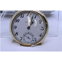 "South Bend ""16"" size pocket watch, 19 jewel, grade 219, model 2, serial #808424, dates this pocket w"