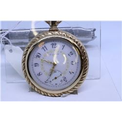 "Elgin ""16"" size pocket watch, 15 jewel, grade 313, model 7, serial #13697500, dates to 1909, 3/4 nic"