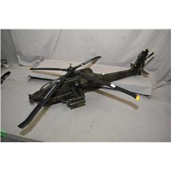 Elite Force 1:18th scale Apache Helicopter, sans box, retails for $275.00