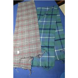 Lochmere 100% cashmere scarf and an Italian made 90% cashmere and 10% wool scarf