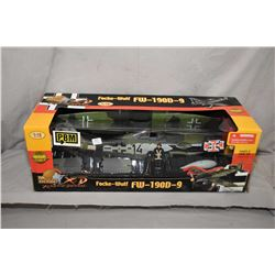 """Ultimate Soldier 1:18th scale model """"Focke-Wulf FW-190D-9"""" bomber, new in package, retails $500.00"""