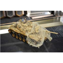 Unimax collectible toy tank packaging not included