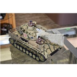 New Millenium Toys Ltd. collectible tank packaging not included