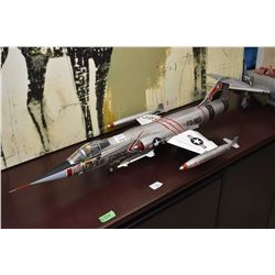 Ultimate Soldier F-104CG fighter jet packaging not included