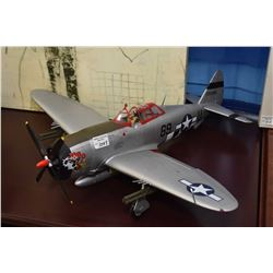 Ultimate Soldier P-47D Thunderbolt WWII airplane no packaging
