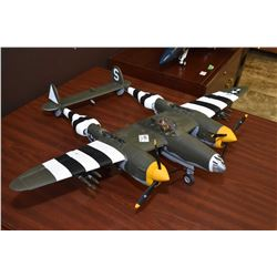 21st Century Toys WWII airplane P-38, no packaging
