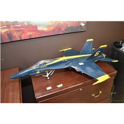 "Blue Box FA-18C Hornet ""Blue Angels"" no packaging"