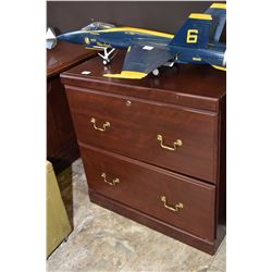 Modern two drawer hanging file cabinet