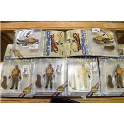 "Six new in package ""Ultimate Soldier"" Corsair pilot action figures"