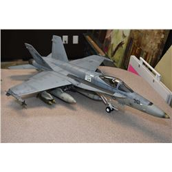 FA-18C Hornet jet fighter, no packaging