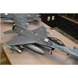 Blue Box brand F-16 fighter jet, no packaging