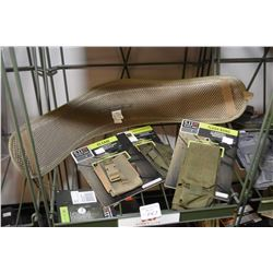 Selection of new 511 Tactical gear including VTAC belt, Flash Bang, single pistol mag pouch and C5 c