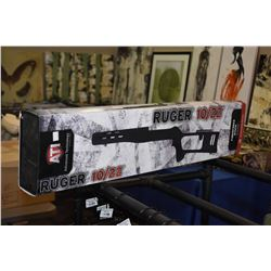 New in package Advance Technology International black fiberforce stock for Ruger 10/22