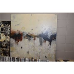 """Large stretch decor abstract picture 47"""" X 47"""""""