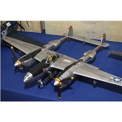 P38 Lightening display model plane, no packaging