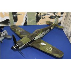 Display model WWII fighter plane, no packaging