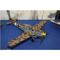 Display model German WWII fighter plane, no packaging