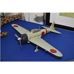 Display model WWII Japanese Zero, no packaging