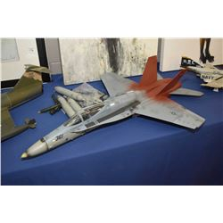 Display model FA-18C Hornet jet plane, no packaging