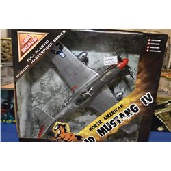 New in package Merit International Museum Masterpiece series, 1:24th scale, P-51D Mustang