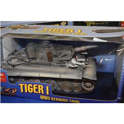 New in box Ultimate Solider 1:18th scale Tiger I German tank