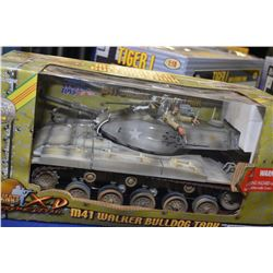 New in package Ultimate Soldier 1:18th scale M41 Walker Bulldog tank