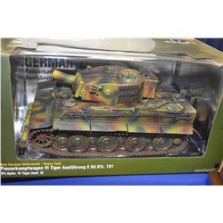 New in package Military Series 1:18th scale German Tiger I tank