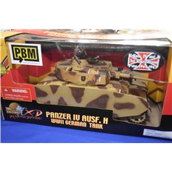 New in package Ultimate Soldier 1:18th scale Panzer IV AUSF.H German tank
