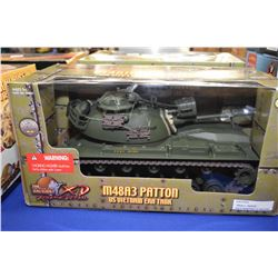 New in package Ultimate Soldier 1:18th scale M48 A3 Patton US Vietnam era tank